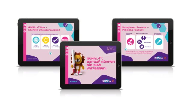 Merck iPad-Salesfolder
